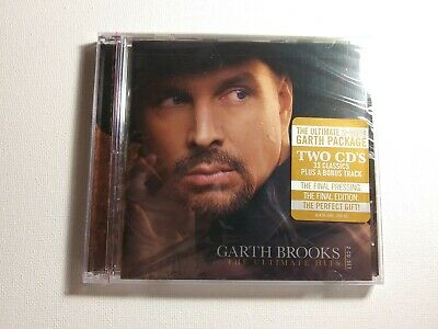 Garth brooks ultimate Hits 2 CD Collection Brand New (Factory Sealed)
