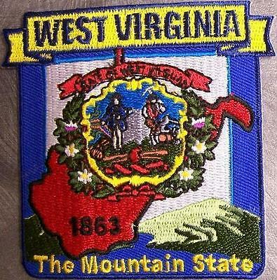 Embroidered USA State Patch Washington D C NEW montage
