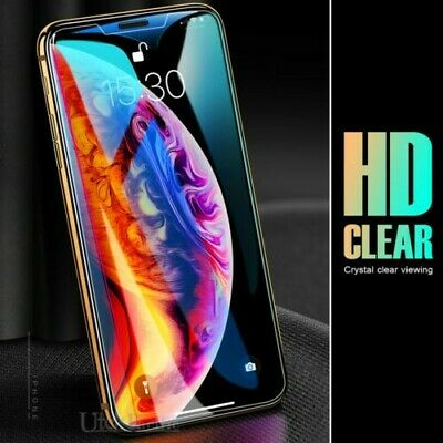 2X Quality Tempered Glass Screen Protector Apple iPhone 11 Pro X XR XS Max