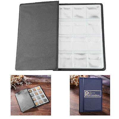 120 Pockets Coins Album Collection Book Commemorative Coin Holders Gifts