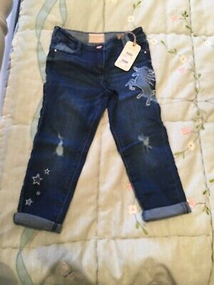 Girls next Relaxed Skinny Jeans Age 6