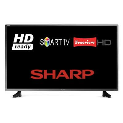 "Sharp 32AC6IE / 1T-C32AC6IE1NB 32"" Smart LED TV HD Ready WiFi Freeview HD HDMI"