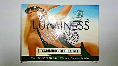 Luminess Tanning Refill Kit -Deep Tan- Tan Lasts up to 14 Days-New IN Sealed Box