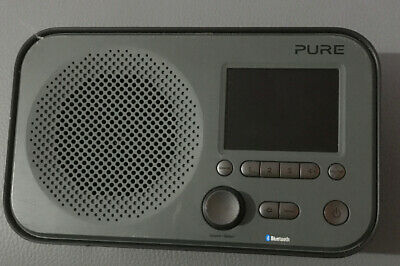 Pure Elan BT3 Portable DAB/DAB+/FM Digital Radio with Bluetooth Tone Radio Alarm