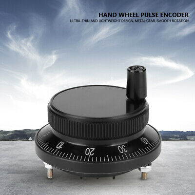 CNC 5V 60mm Electronic Hand Wheel Router Manual Pulse Generator Encoder