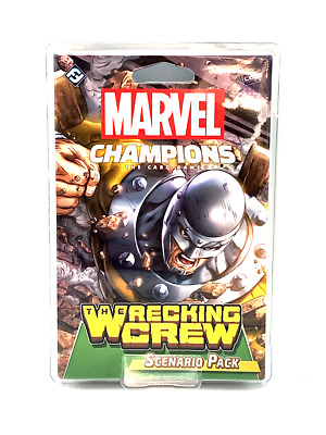 The Wrecking Crew Marvel Champions The Card Game Scenario Pack
