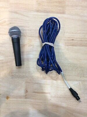 Shure SM58 Vocal Microphone With Charger