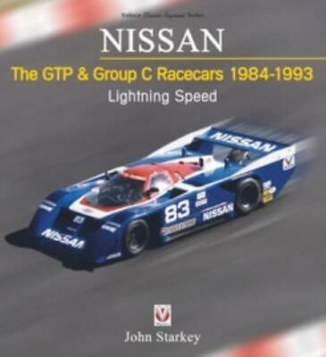 Book NISSAN The GTP & Group C Racecars 1984-1993: Lightning Speed