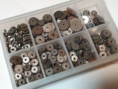 Clock and Pocket watch part collection - watchmakers lot