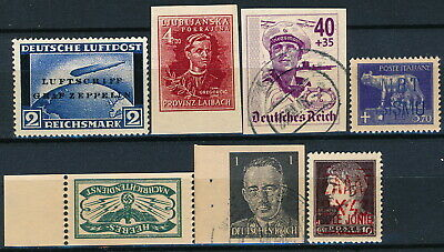 Worldwide, Um/Nh & Used Lot Of Different Forgeries Stamps.   #M552