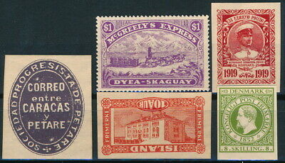 Worldwide, Um/Nh & Used Lot Of Different Um/Nh Forgeries Stamps.   #M553