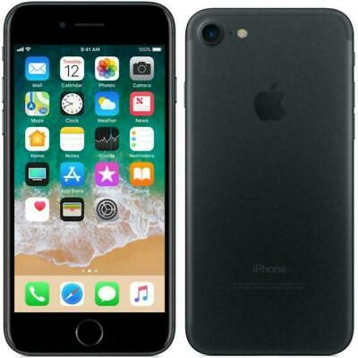 Apple iPhone 7 - 32GB - Black (AT&T ,Cricket ,H2O ,Net10) A1778 (GSM)