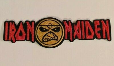 Iron Maiden Heavy Metal Embroidered Iron-on Band Patch