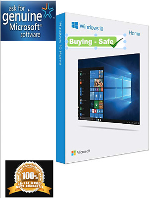Windows 10 Home⭐Genuine License Key🔑Product Code⭐32/ 64bit⭐ 2 Second Delivery