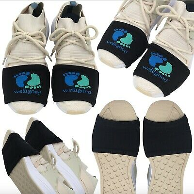 4 Pairs of Dance Socks Over Sneakers for Smooth Floors, Black