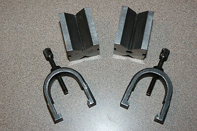STARRETT # 278 Precision V-Blocks and Clamps Set …… MADE IN THE USA