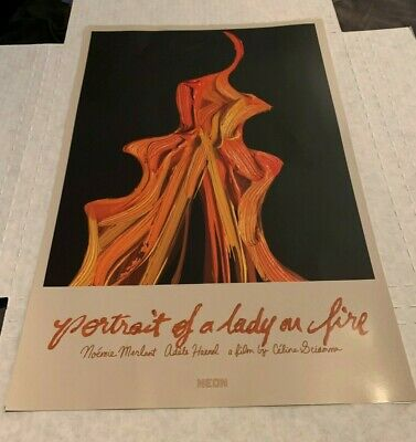 Portrait of a Lady on Fire (2020) 1/S Movie Poster 11x17 Celine Sciamma