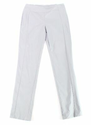 Tribal Womens Dress Pants Gray Size 8 Pull-On Seamed Solid Stretch $56 883