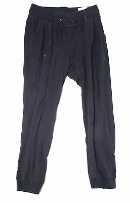Champion Womens Pants Black Size Medium M Drawstring Jogger Stretch- 570