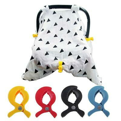 Baby Car Blanket Clip Seat Accessories Toys Lamp Pram Stroller Peg To Hook Cover