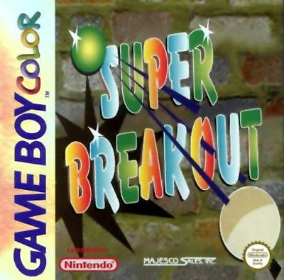 Super Breakout GBC New Game Boy Color