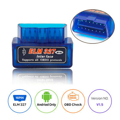 Car Bluetooth Mini ELM327 OBD2 II Auto OBD2 Diagnostic Interface Scanner Tool