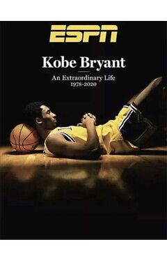 Kobe Bryant ESPN Magazine 2020 Special Edition Tribute Issue - Brand New