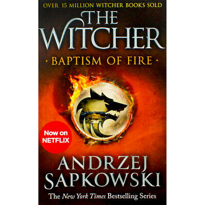The Witcher - Baptism of Fire - Book 3 (Paperback), Fiction Books, Brand New