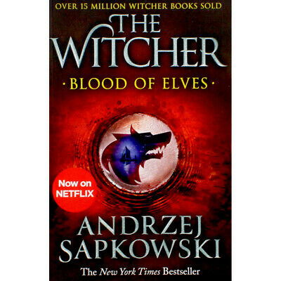 The Witcher - Blood of Elves - Book 1 (Paperback), Fiction Books, Brand New