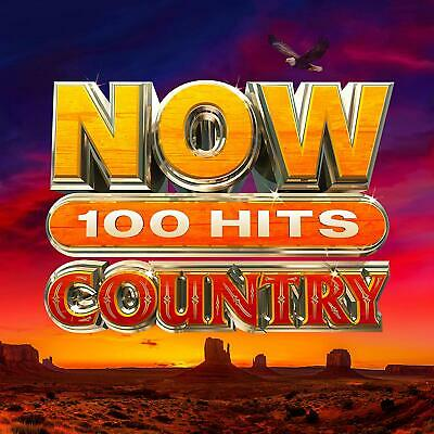 NOW 100 HITS COUNTRY (Best Of) 5 CD Set (2020) (New & Sealed)