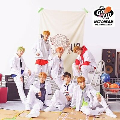 NCT DREAM - We Go Up (2nd Mini Album) CD+Photobook+Photocard+Gift+Tracking no.