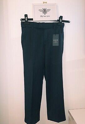 Boys Howick Junior Navy Tailored Trousers -9-10 Yrs BNWT - Wedding/Party/Suit