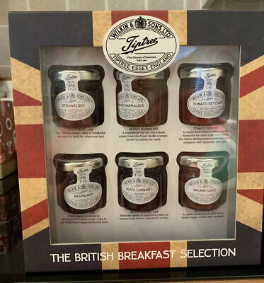 WILKIN & SONS TIPTREE THE BRITISH BREAKFAST SELECTION 2 x 40g 4 x 42g JARS