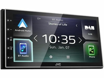 JVC Multimedia Gerät KW-M745DBT + DAB Antenne Apple Carplay  Bluetooth B-Ware