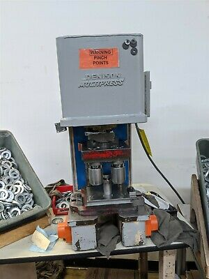 2 Ton Hydraulic Denison Bench Press Multipress WUA-2TR Moose #A17