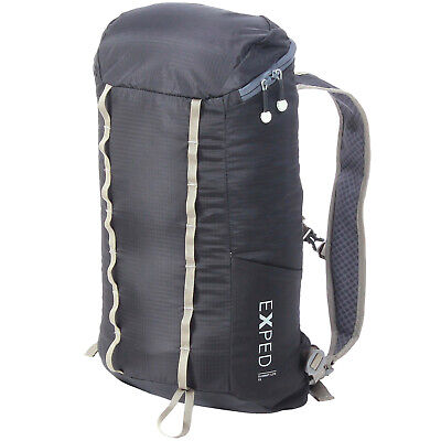 SUMMIT 15L CAMPING BACKPACK TRAVEL TWIN WEBBING POUCHES WATERPROOF  CP LH04813
