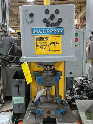 2 Ton Hydraulic Denison Bench Press Multipress WUPA-2TR Moose #A5