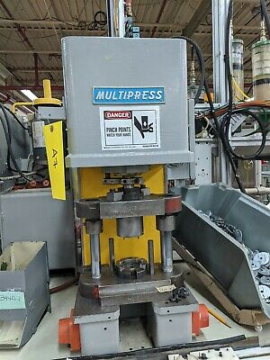 2 Ton Hydraulic Denison Bench Press Multipress WUA-2TR Moose #A7