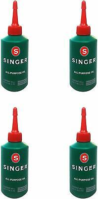 Singer Sewing Machine Oil Pack of 4