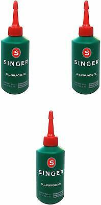 Singer Sewing Machine Oil Pack of 3
