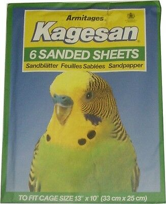 """Kagesan Sanded Sheets Pack Of 6 Sheets 13"""" X 10"""""""