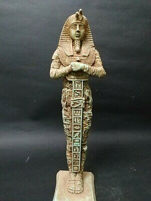 Antique Statue Rare Ancient Egyptian Pharaonic King Ramses  35 cm 1303 bc
