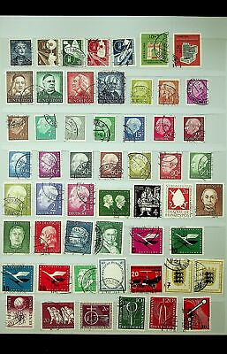 Germany Mixed Lot Of Famous People Coat Of Arms Etc Fine Used Collection
