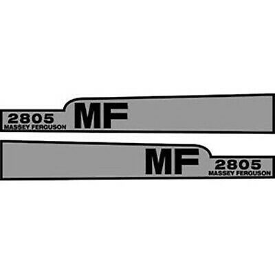 Hood Decal Set for Massey Ferguson 2805 Tractor