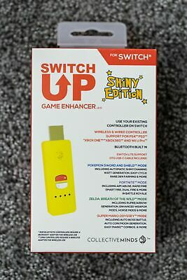 In Hand- Nintendo Switch Up Game Enhancer Shiny Edition Pokemon Collective Minds