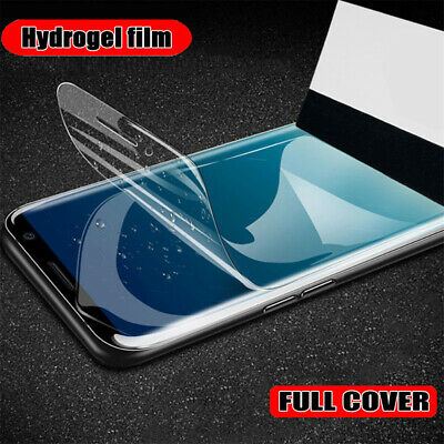 Hydrogel Film Full Cover Soft Screen Protector For Samsung Galaxy S20 S20+ Ultra
