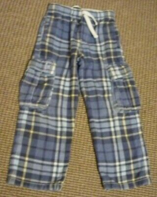 Mini Boden Check Boys Trousers age 6-7yrs