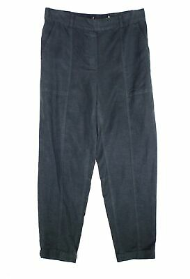Eileen Fisher Womens Pants Gray Size Small S Stretch Slim Ankle Leg $168- 444