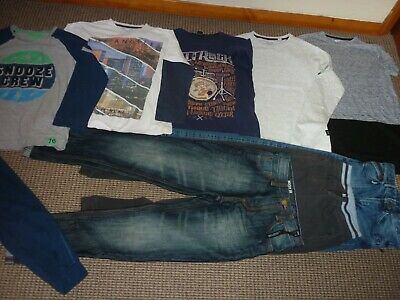 Bundle Boys Clothes age 11-12yrs Next Saltrock Jeans Tops Joggers Pyjamas