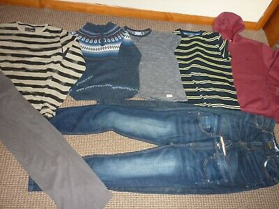 Bundle Boys Clothes age 12-13yrs Slazenger  Next  Jeans Tops Hoodie Pyjamas
